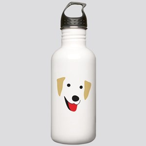 Yellow Lab's Face Stainless Water Bottle 1.0L