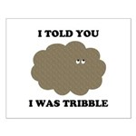 Trouble With Tribbles Small Poster