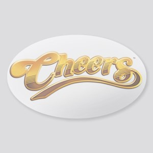 Cheers TV Show Retro Sticker (Oval)