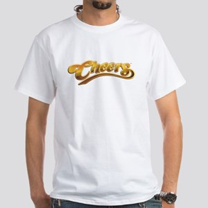Cheers TV Show Retro White T-Shirt