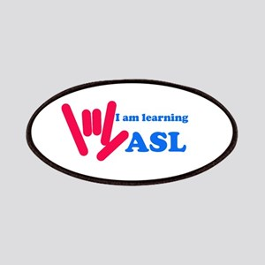 Learning ASL: Red and Blue Patches