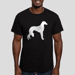 Saluki Men's Fitted T-Shirt (dark)