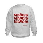 Marcia Marcia Marcia Kids Sweatshirt