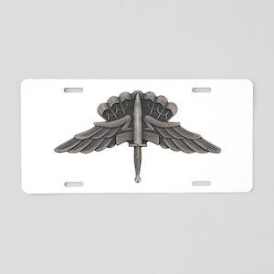 Freefall (HALO) Aluminum License Plate