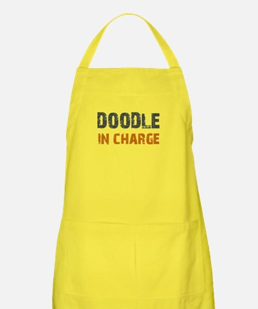 Doodle IN CHARGE Apron
