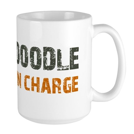 Doodle IN CHARGE Large Mug