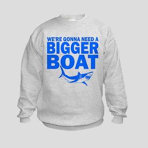"""...Bigger Boat"" Kids Sweatshirt"