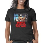 Never Forget Who blk trsp Women's Classic T-Shirt