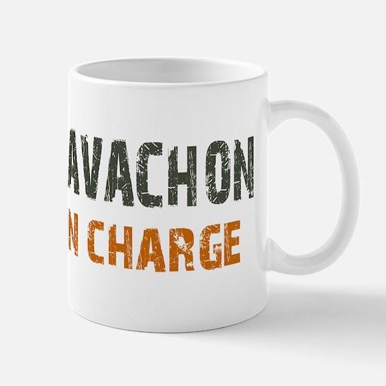 Cavachon IN CHARGE Mug