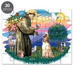 St.Francis #2/ Afghan Hound Puzzle