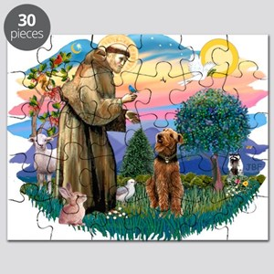 St Francis #2/ Airedale Puzzle