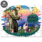 St.Francis #2/ Aus Shep (merl Puzzle