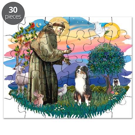 St.Francis #2/ Aus Shep (tri) Puzzle