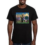 St Francis & Aussie Men's Fitted T-Shirt (dark)