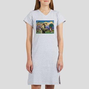 St Francis/ Aus Shep Women's Nightshirt