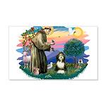 St.Francis #2/ Beardie (#8) 22x14 Wall Peel
