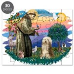 St. Fran. & Bearded Collie Puzzle