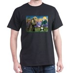 St. Francis & Beardie Dark T-Shirt