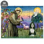 St. Francis & Beardie Puzzle