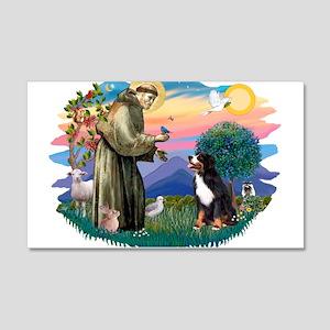 St Francis #2/ BMD 22x14 Wall Peel