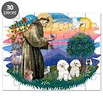 St Francis #2/ Bichon (2) Puzzle
