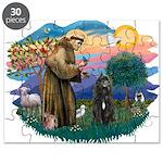 St Francis #2/ Bouvier Puzzle