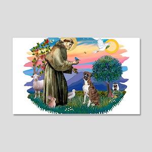 St.Francis #2/ Boxer (nat ea 22x14 Wall Peel