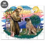 St.Francis #2/ Bull Mastiff Puzzle