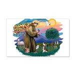 St.Francis #2/ C Crested #1 22x14 Wall Peel