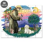 St.Francis #2/ Coton De Tulea Puzzle