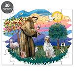 St.Francis #2/ English Set. Puzzle
