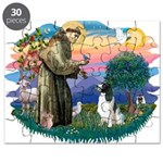 St Francis #2/ Eng Spring Puzzle