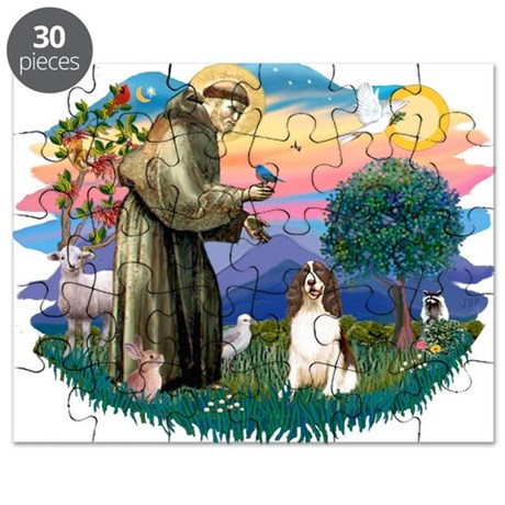 St.Francis #2/ Eng Springer ( Puzzle