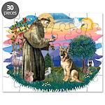 St.Francis #2/ Ger Shep #2 Puzzle