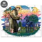 St.Francis #2/ Great Dane (bl Puzzle