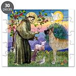 Saint Francis' Great Dane Puzzle