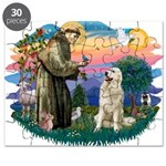 St.Francis #2/ Pyrenees #1 Puzzle