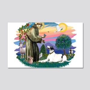 St.Francis #2/ Greyhound 22x14 Wall Peel