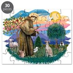 St.Francis #2/ Ital Grey (f) Puzzle