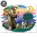 St Francis #2 / Keeshond Puzzle