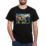 5.5x7.5-StFran-Lab1-RedC T-Shirt