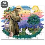 St. Francis #2 / Papillon Puzzle