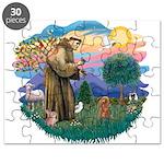 St.Francis #2/ Poodle (Toy A) Puzzle