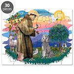 St.Fran #2/ Poodle (Std S) Puzzle