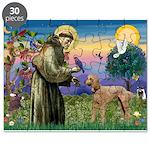 St Francis / Std Poodle(a) Puzzle