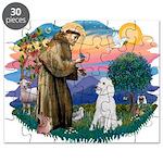 St.Francis #2/ Poodle (Std W) Puzzle