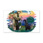 St.Francis #2/ Giant Schnauze 22x14 Wall Peel