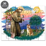 St Francis #2/ Shiba Inu Puzzle