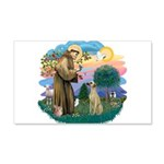 St Francis #2/ Sloughi 22x14 Wall Peel