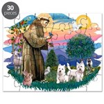 St.Francis #2/ Westies (2) Puzzle